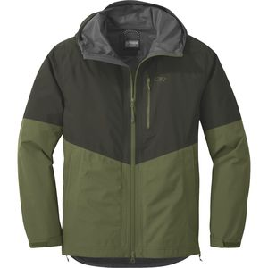Foray Jacket - Men's Forest/Seaweed, S - Excellent