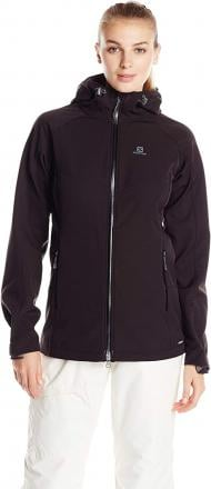NWT Salomon Snowtrip Premium 3:1 Jacket Women's Large Black