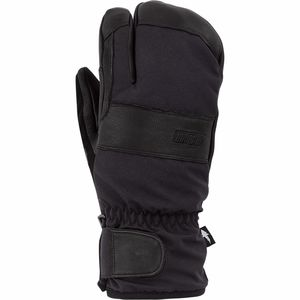 August Short Trigger Mitten - Men's Black, L - Good