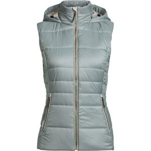 Stratus X Hooded Vest - Women's Drift/Fawn Heather,XS - Good