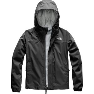 Resolve Reflective Hooded Jacket - Girls' Tnf Black, M - Excellent