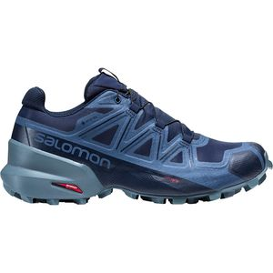 Speedcross 5 GTX Trail Running Shoe - Men's Navy Blazer/Stormy Weather/Sargasso Sea, US 7.0/UK 6.5 - Excellent