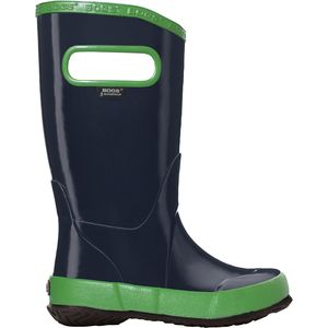 Solid Rain Boot - Boys' Navy Multi, 3.0 - Good