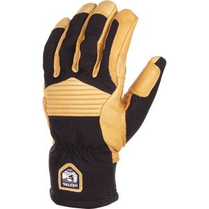Army Leather Couloir Glove - Men's Black/Tan, 7 - Good