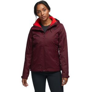 Arrowood Triclimate Hooded 3-In-1 Jacket - Women's Deep Garnet Red/Deep Garnet Red, XL - Good