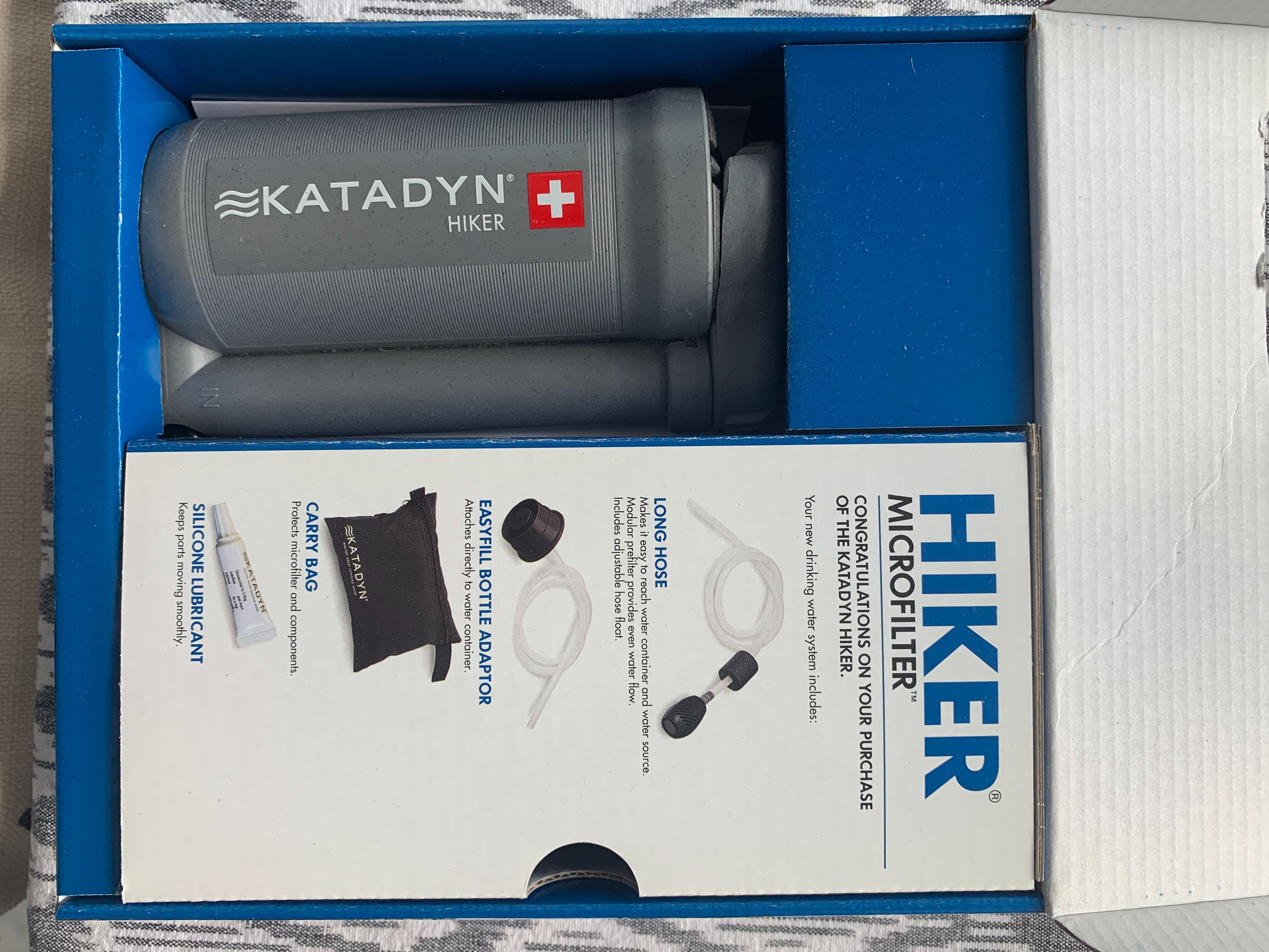 Brand new, never used, in package water filtration system