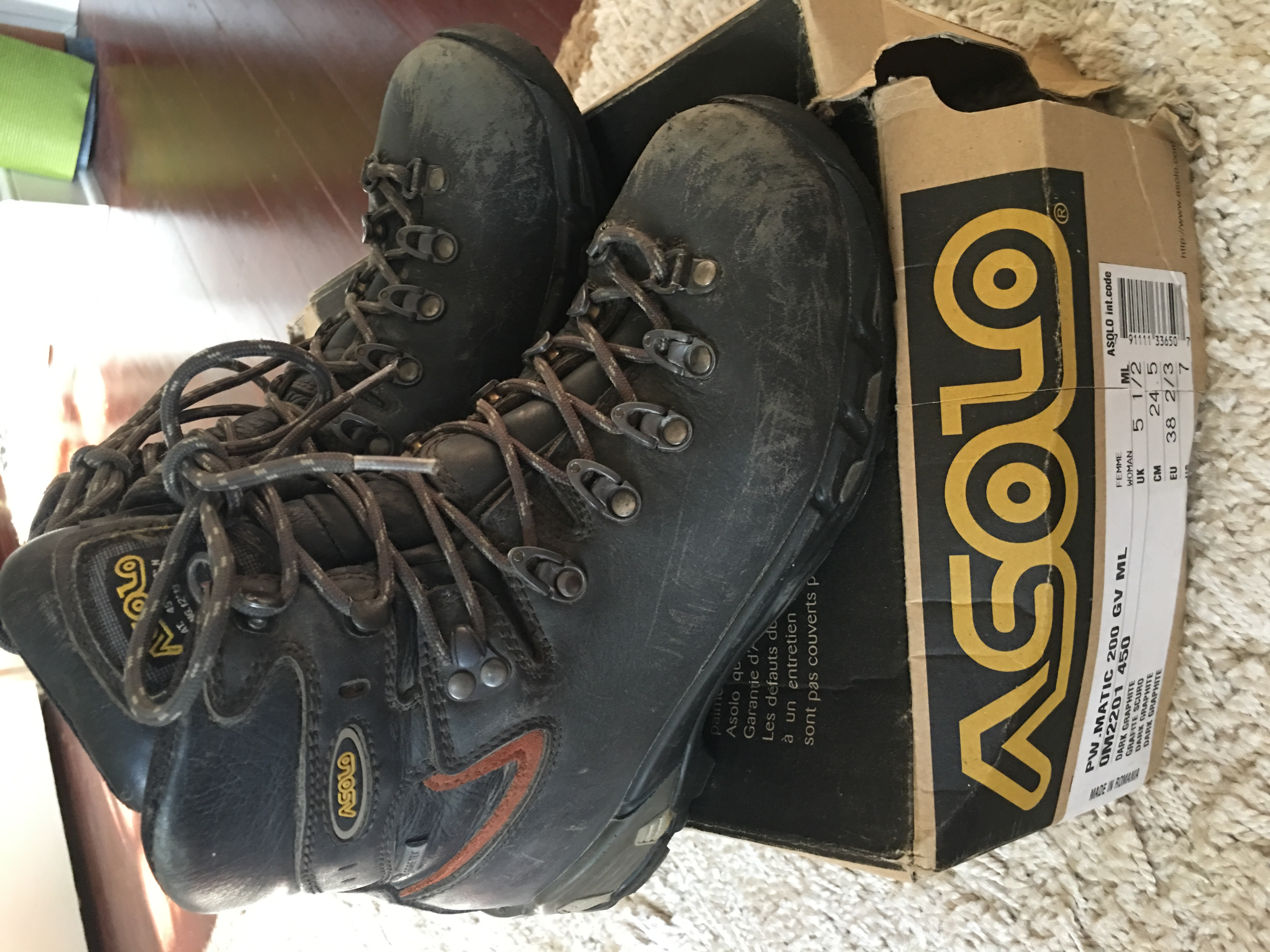 Asolo hiking boot Power Matic 200