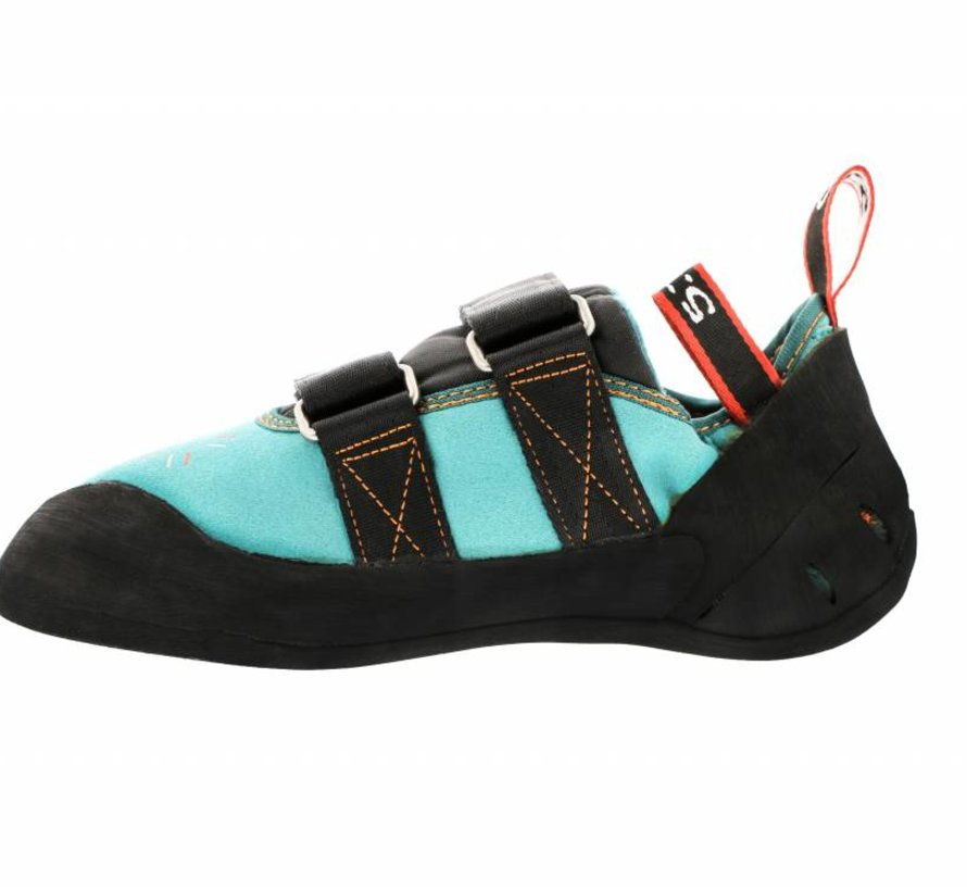 Women's Anasazi LV Climbing Shoes Teal 5.5
