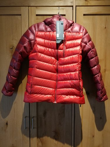 NEW Norrona Womens Lyngen 850 Down Hooded Jacket