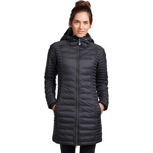Spyfire Hooded Down Parka - Women's Blackout, L - Like New