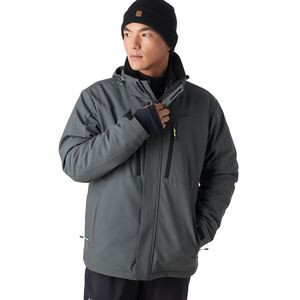 3-in-1 Ski Snow Jacket - Men's Pewter, L - Like New