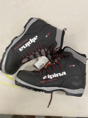 BRAND NEW Alpina BC5 BC Cross Country ski boot Size# 47