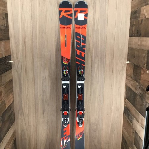 New 2020 Rossignol Hero Elite Plus ski w/ Look SPX 12 bindings