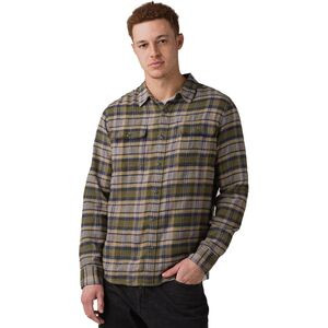 Westbrook Slim Flannel Shirt - Men's Vert Green, M - Like New