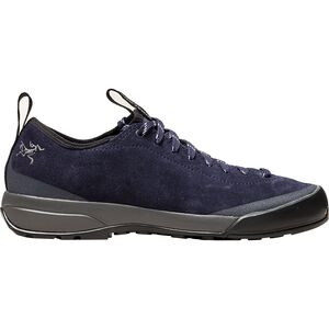 Acrux SL Leather Approach Shoe - Women's Black Sapphire/Ion, US 7.5/UK 6.0 - Good
