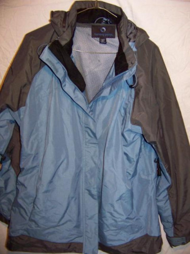 Turning Point Waterproof Rain Jacket, Women's Large