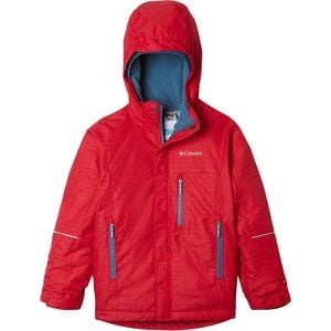 Mighty Mogul Jacket - Boys' Mountain Red Check, L - Excellent