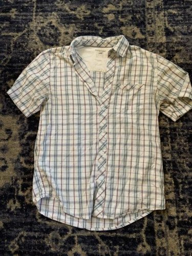 Horny Toad (now Toad & Co) Short Sleeve Mens Shirt Size Small