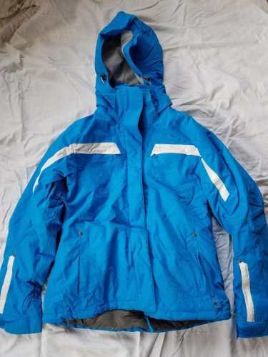 Karbon Women's Snowboard Coat, size 8, Turquoise