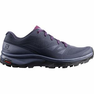 Outline Hiking Shoe - Women's Evening Blue/Crown Blue/Potent Purple, US 6.0/UK 4.5 - Good