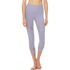 High-Waist Mesmerize Capri - Women's Blue Moon, S - Excellent