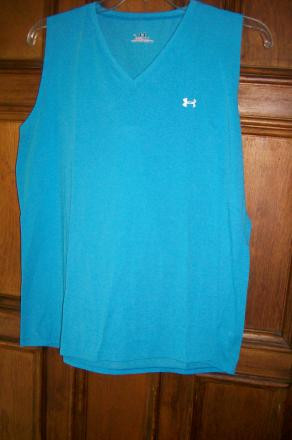 Under Armour Heat Gear tank, XL