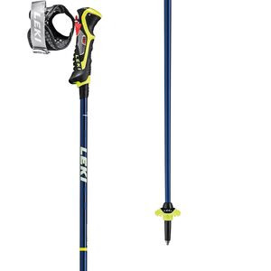 Carbon 14 3D Ski Poles Blue/Yellow, 120cm - Excellent