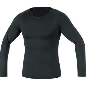 Base Layer Thermo Long Sleeve Shirt - Men's Black, XXL - Excellent