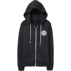 Circle Zip Hoodie - Women's Black, M - Good