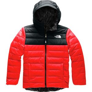 Reversible Perrito Hooded Jacket - Boys' Fiery Red,M - Excellent