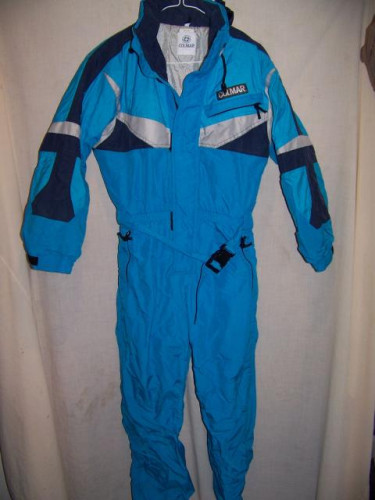 Vintage Colmar One Piece Snow Ski Suit, Women's Small, Made in France