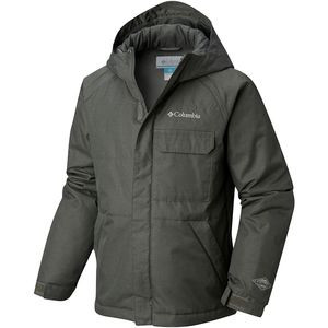 Casual Slopes Jacket - Boys' Grill Heather, L - Excellent