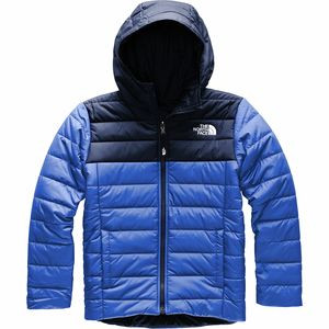Reversible Perrito Hooded Jacket - Boys' Tnf Blue,S - Excellent