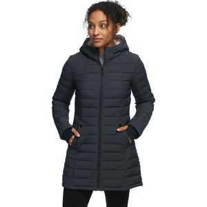 Erie Stretch Insulated Parka - Women's Charcoal, S - Excellent