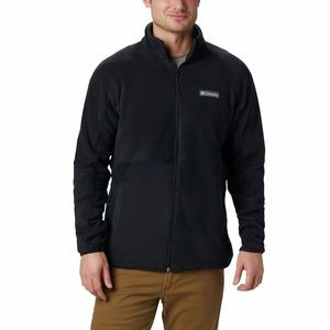 Basin Trail Full-Zip Fleece Jacket - Men's Black, M - Like New