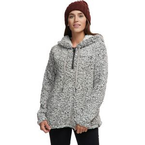 Frosty Tipped Pile Stadium Hoodie - Women's Charcoal, XS - Like New