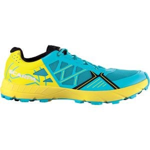 Spin Trail Running Shoe - Women's Scuba Blue/Lemon, 39.5 - Good