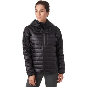 Helium Down Hooded Jacket - Women's Black, M - Like New