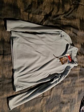 The North Face lightweight fleece jacket girls large