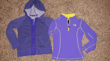 Girls Small 7/8 Marmot & The North Face