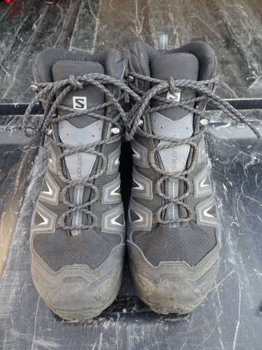 SALOMAN X ULTRA 3 MID GTX  BOOTS Gore-Tex® ** EXCELLENT CONDITION **