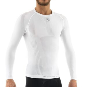 Mid-Weight Tubular Long-Sleeve Base Layer - Men's White, M - Fair
