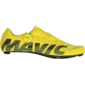 Cosmic SL Ultimate Cycling Shoe - Men's Yellow Mavic/Black, US 11.0/UK 10.5 - Good
