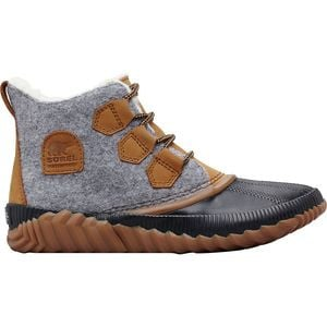 Out N About Plus Felt Boot - Women's Quarry, 7.5 - Excellent