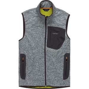 Windproof Sweater Fleece Vest - Men's Light Gray Heather, XL - Excellent