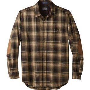 Trail Shirt - Men's Tan/Black/Green Ombre, L - Good