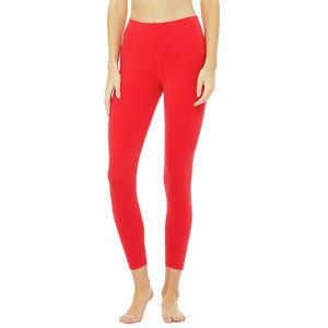 7/8 High-Waist Airbrush Legging - Women's Scarlet, L - Good