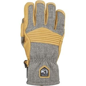 Army Leather Couloir Glove - Men's Light Grey/Tan, 9 - Excellent