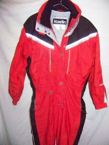 Kaelin Insulated Onesie One Piece Snow Ski Suit, Women's 10