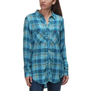 Always Adventure Long-Sleeve Shirt - Women's Lagoon,M - Excellent